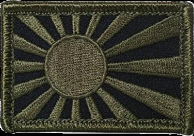 旭日旗(軍艦旗) ODパッチ 40-60