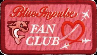 Blue Impulse FAN CLUBタグ ピンク