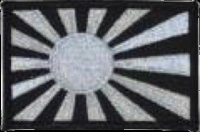 軍艦旗シルバーパッチ 53-80