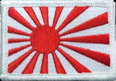 旭日旗(軍艦旗)パッチ 50-75
