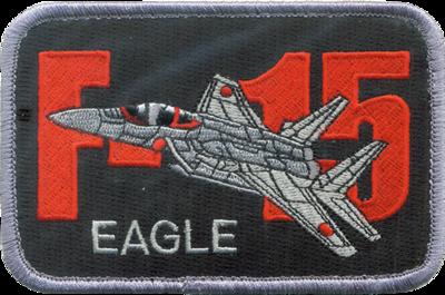 空自 F-15 EAGLEパッチ