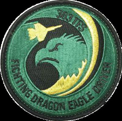 小松 第303飛行隊 EAGLE DRIVERパッチ
