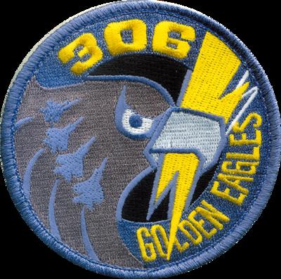 小松 第306飛行隊 ゴールデンイーグルパッチ