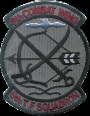 築城 第6飛行隊部隊 ロービジパッチ