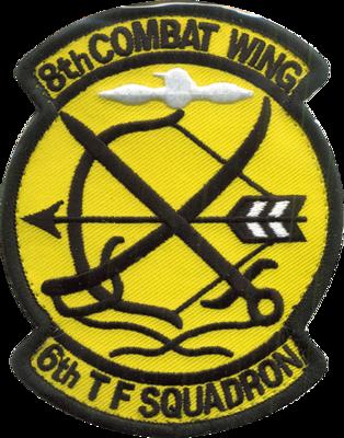 築城 第6飛行隊部隊パッチ