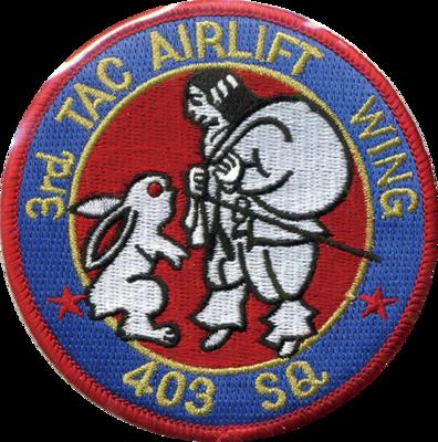 美保 第403飛行隊パッチ