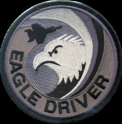 F-15 EAGLE DRIVER ロービジ グレーパッチ