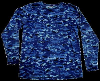 海自デジタル迷彩 長袖