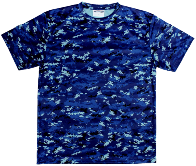 海自デジタル迷彩 半袖