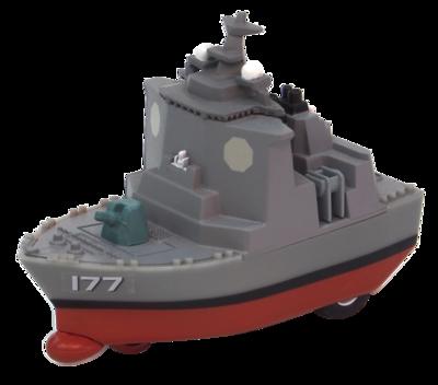 プルバックマシーン イージス護衛艦