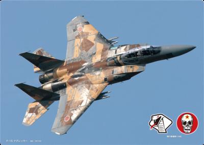 下敷き F-15DJ アグレッサー