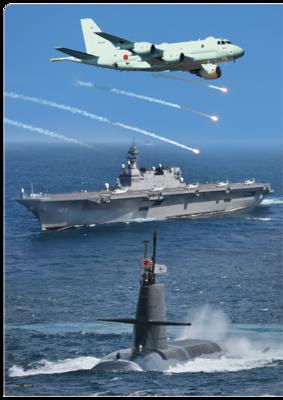 A4クリアファイル 海上自衛隊 総合3画像