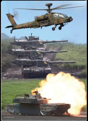 A4クリアファイル 陸上自衛隊 総合3画像