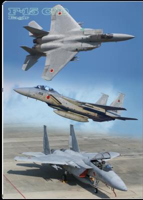 A4クリアファイル 航空自衛隊 F-15J イーグル 3画像