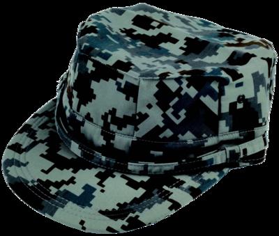 八角作業帽 空自デジタル迷彩