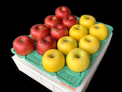 りんご詰め合わせ スイート&ゴールド 特秀品5Kg