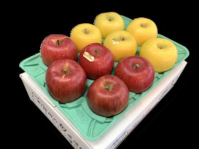りんご詰め合わせ あいか&ゴールド 特秀品3Kg