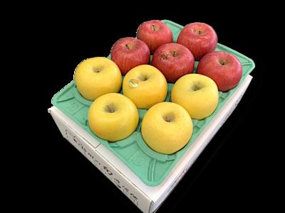 りんご詰め合わせ サンふじ&ゴールド 特秀品3Kg