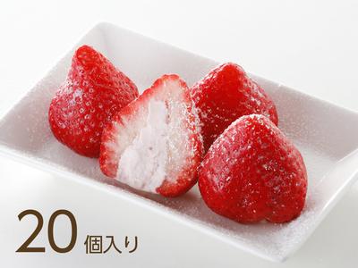 苺の実バニラ まとめ買い 20個入り〈指輪なし〉