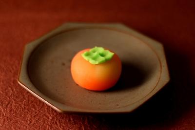 季節の外郎『 里の柿 』4個入