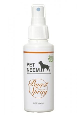 携帯用PETNEEM【犬猫共用:虫よけスプレー】Bug off Sprayバグオフスプレー
