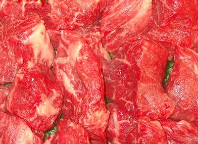 国産・和牛 牛赤身モモ(カレーシチュー)