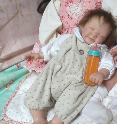リボーンドール用 オレンジジュース マジックボトル 哺乳瓶