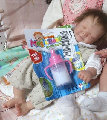 リボーンドール用 ミルク マジックボトル 哺乳瓶