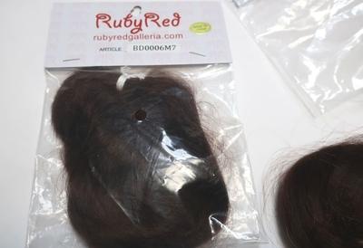 リボーンドール 植毛用モヘア ミディアムブラウン