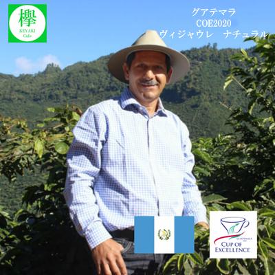 グァテマラ COE2020  ヴィジャウレ ナチュラル  コーヒー豆 200g