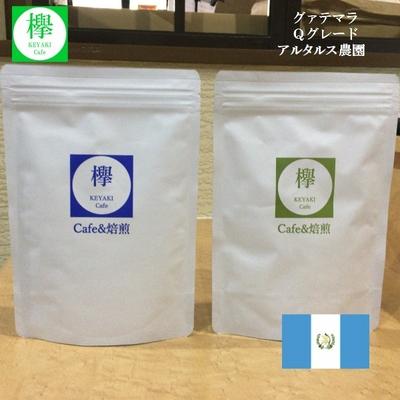 コーヒー豆 グァテマラ Qグレード アルタルス農園 (200g)