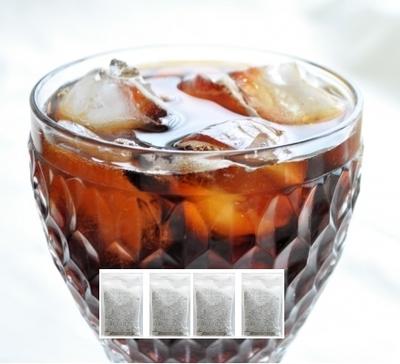 水出し コーヒーパック003  エチオピアゲイシャ ブレンド 2リットル用(500ml用×4パック)  欅 Cafe&焙煎