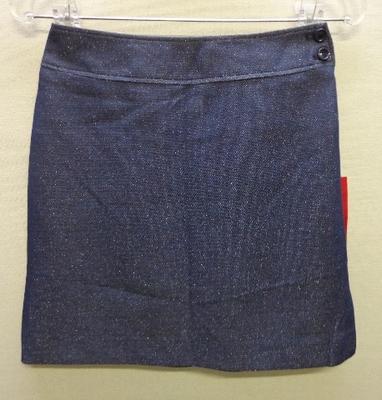 INGNI ミニスカート ラメ ネイビー色 日本製(9号)