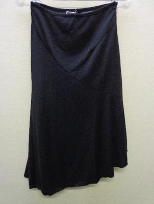 ルイ ペリエ WEEKLY アシンメトリー フレアスカート ブラック(S) 日本製