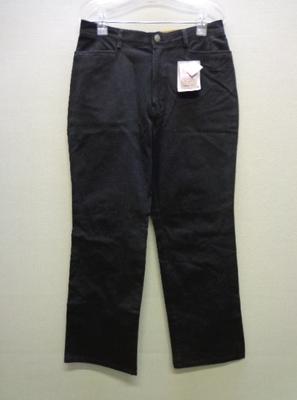 Varutessa 機能美人パンツ・シリーズ 立体8ダーツパンツ ウエスト伸び機能 大きいサイズ ブラック(76-99)