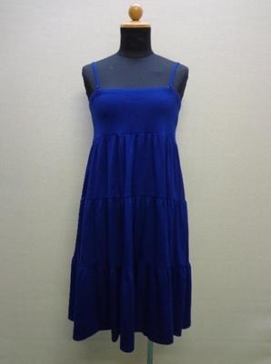 UNIQLO ユニクロ WOMEN 2way ギャザースカート ブルー(M)