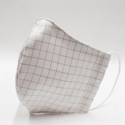MS031.立体型布マスク(ミューファン抗菌さらし使用)