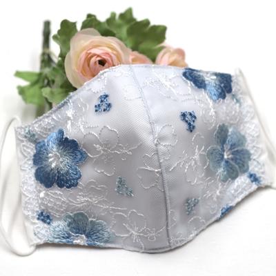 MS050.立体型布マスク(ミューファン抗菌さらし使用)