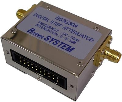 RFデジタル・ステップ・アッテネータ(シールドケース実装タイプ) BS3G30A