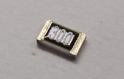 金属皮膜チップ抵抗器(精密級) RR1220Q-300-D(50個入)