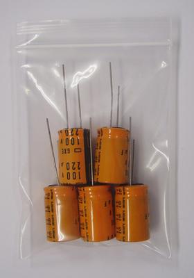 小形アルミ電解コンデンサ EGXE101E221ML25S(5個入)