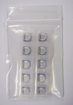 縦形チップアルミ電解コンデンサ EMVK6R3ADA101MF55N(10個入)