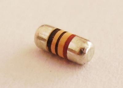 MELFタイプ カーボンフィルム抵抗器 RD41B2BT(30個入)