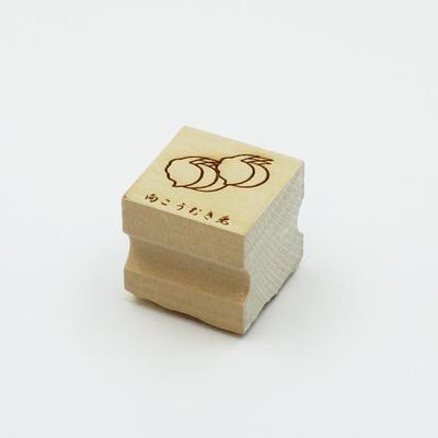Karakami stamp 四季向こうむき兎