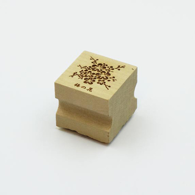 Karakami stamp 四季梅の花