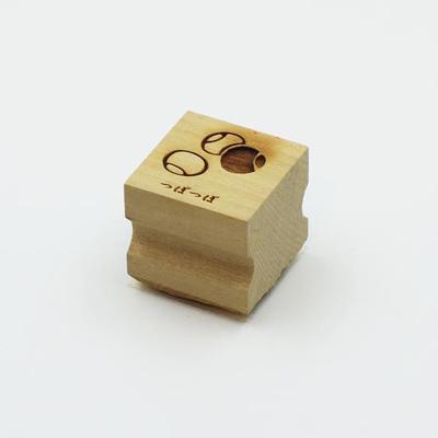 Karakami stamp 四季つぼつぼ