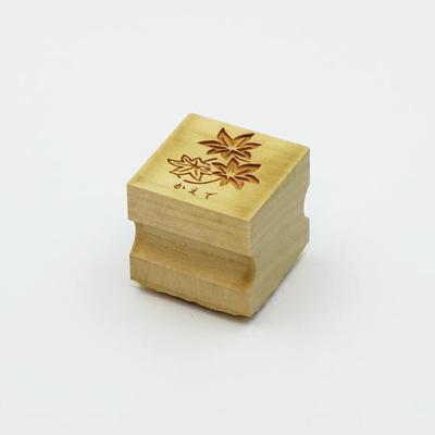 Karakami stamp 四季かえで