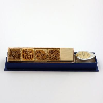 Karakami stamp 四季B落款作成版
