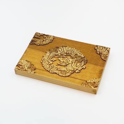 Karakami kit版木 龍の丸