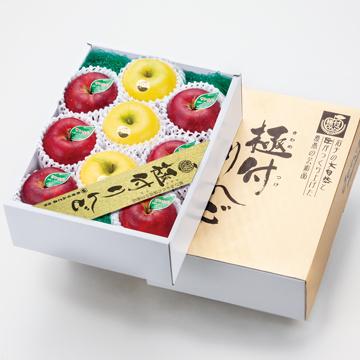 JA江刺産・蜜入りサンふじ シナノゴールド[極付りんご]